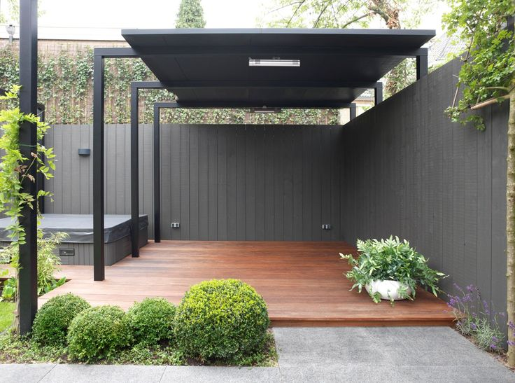 gray-wood-fence-contemporary-thebudgetista