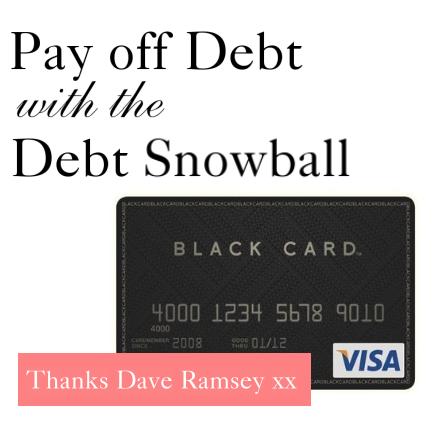 dave ramsey debt snowball thebudgetista