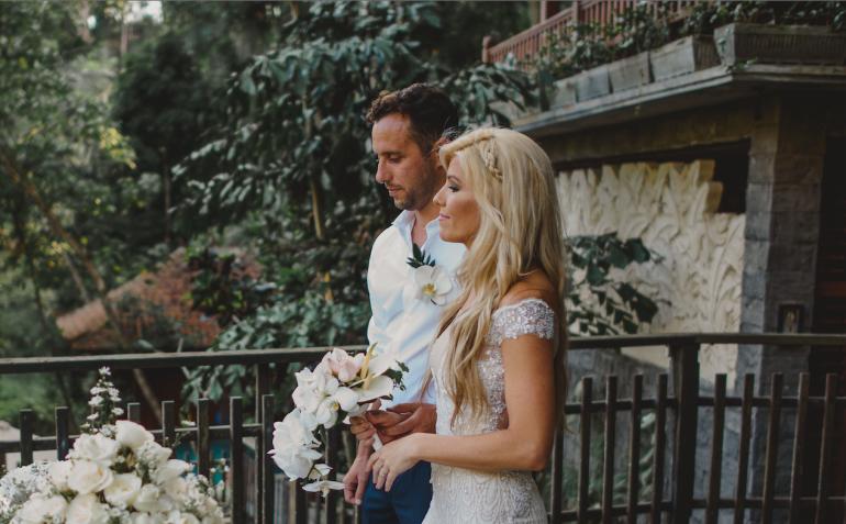 blonde wedding hair braid